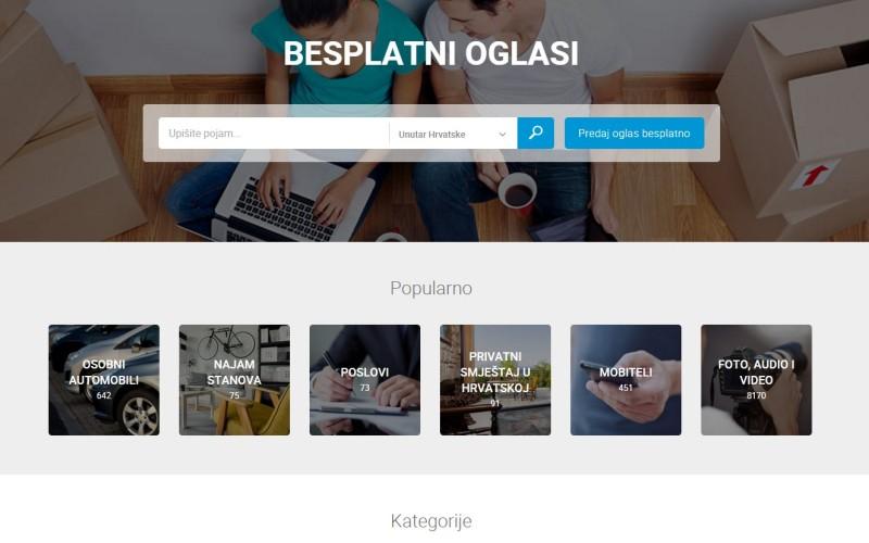 iOglasi – novi besplatni oglasnik na hrvatskome webu