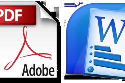 Kako konvertirati PDF u Word