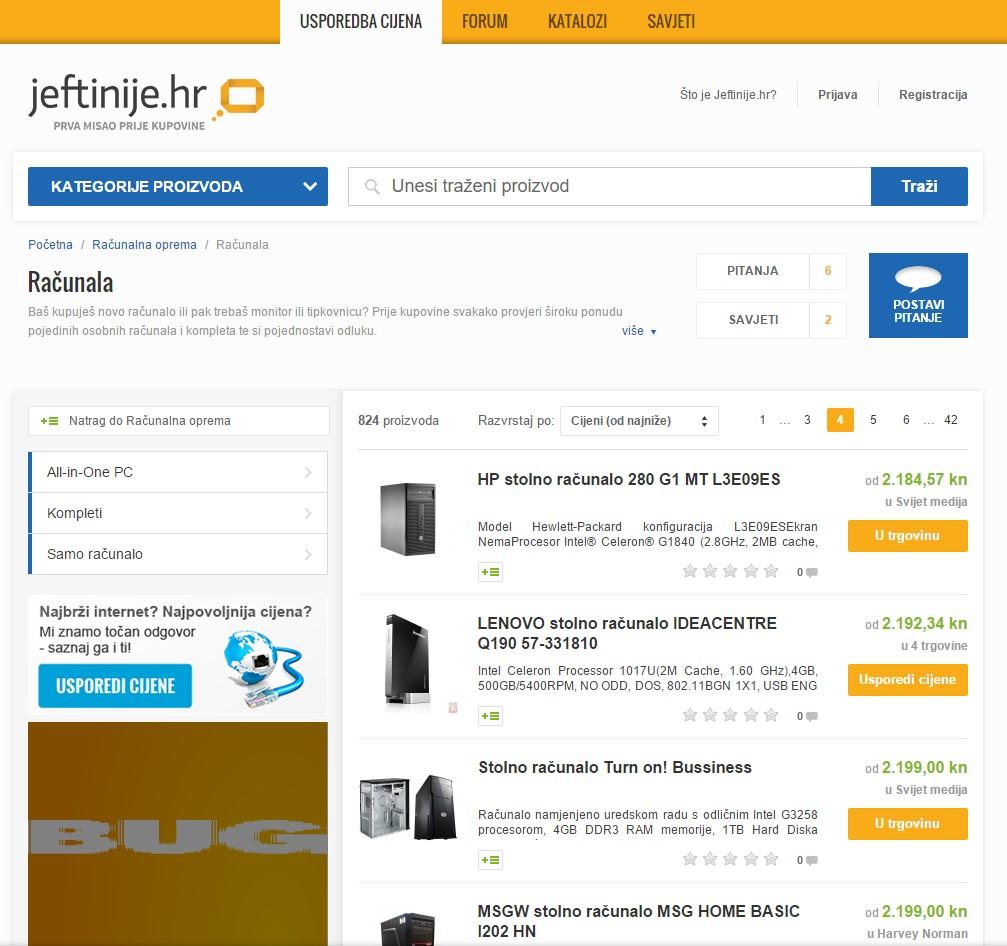 kako kupiti računalo