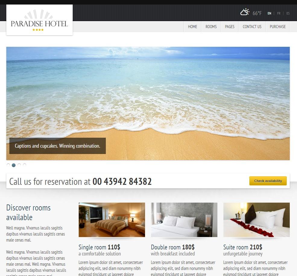 web za apartmane