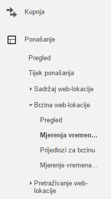 brzina weba