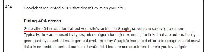 greške 404