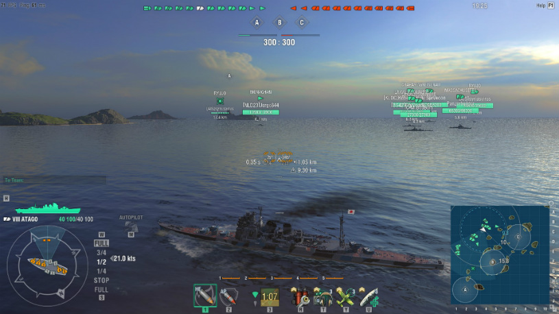 leaving world of warships